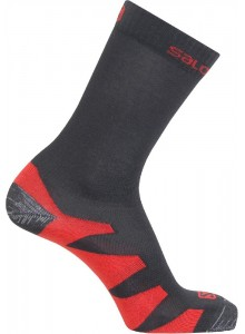 Ponožky SAL.Synapse black/autobahn/orange