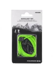 Tkaničky SAL.Quicklace kit green