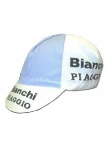 Čepice cyklistická Profi Retro Bianchi