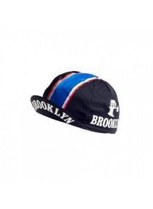 Čepice cyklistická Profi Retro Brooklyn black