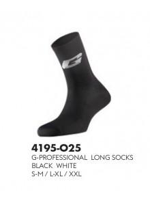 Ponožky GAERNE Professional Long black-white L-XL