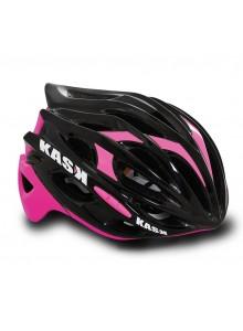 Přilba KASK Mojito black/pink M/48-58cm