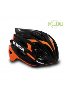 Přilba KASK Mojito black/orange fluo vel.M 48-58cm