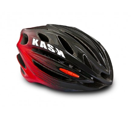 Přilba KASK 50NTA black/red M/48-58cm