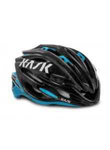 Přilba KASK Vertigo 2.0 black/light blue L/59-62cm
