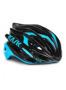 Přilba KASK Mojito 16 black/light blue vel.L 59-62