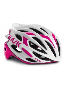 Přilba KASK Mojito 16 white/pink vel.S 46-55cm