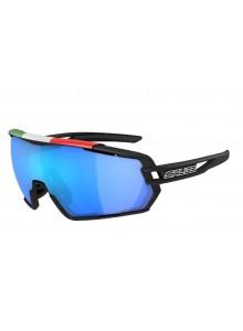 Brýle SALICE 020ITACRX black/RW blue+smoke