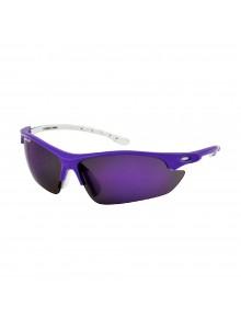 Brýle LONGUS Missiz fialové, skla zrcadlová+smoke