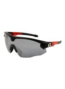 Brýle HQBC Qert Plus čern/červené 3 v 1
