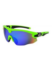 Brýle HQBC Qert Plus reflexní zelené