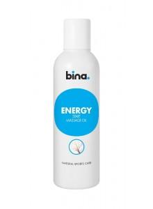 BINA Energy startovní masážní olej  200 ml