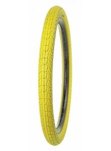 Plášť KENDA 53-406 K907 (20x1,95) Krackpot žlutý