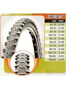 Plášť CST 18x1,95 C-1212 53-355 černý