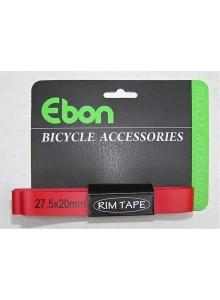 """Vložka do ráfku EBON 27,5""""x20mm PVC"""