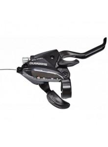 Řadící+brzdové páky SHIMANO STEF510 3x8 speed black