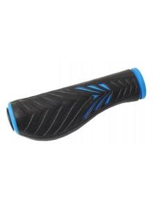 Gripy gumové 1133L s opěrkou na dlaň černo/modré