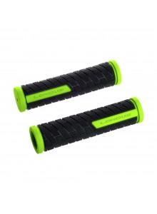 Gripy LONGUS Grid gumové černo-svítivě žluté
