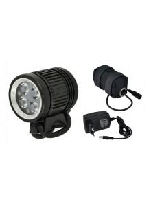 Světlo LONGUS přední Flash 1600 Lm 4fce + Lion bat