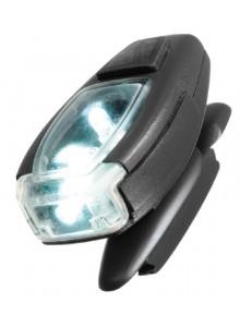 Blikačka UVEX LED bílá