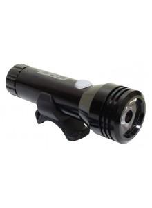 Světlo přední PROFIL JY-7012F-1000 1LED USB blk AL