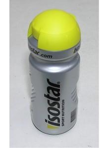 Láhev ISOSTAR 0,65l stříbrno/žlutá víčko