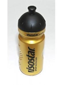Láhev ISOSTAR 0,65l zlatá sosák černý nápis