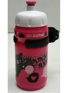Láhev ZEFAL 0,35l Little Z dětská růžová Ninja rid