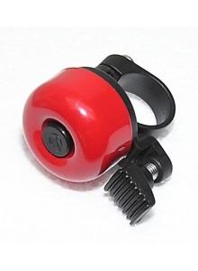 Zvonek cink průměr 35mm červený