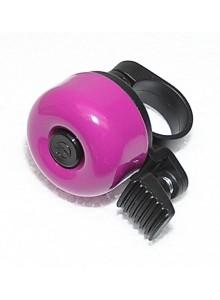 Zvonek cink průměr 35mm fialový