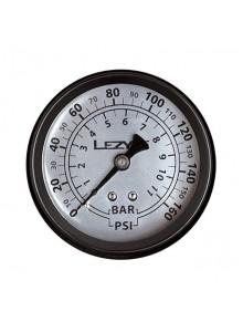 """Tlakoměr náhradní LEZYNE 1,5"""" pro velké pumpy, 160"""