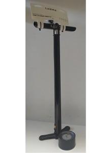 Pumpa LEZYNE CNC Floor Drive black ABS žlutá konco