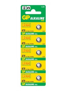 Baterie GP A76,LR44 1,5V 11,6x5,4mm