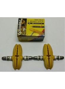 Brzdový špalek IKO-401.12 Corratec žluté