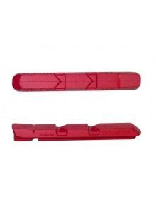 Brzdový špalek KOOLSTOP R1 V-B red cartridge