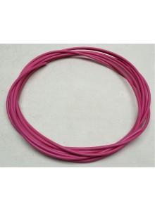 Bovden brzdový s teflonem 5mm růžový
