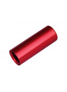 Koncovka bovdenu MAX1  AL 4mm CNC červené