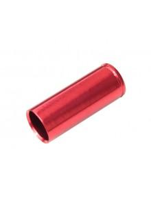 Koncovka bovdenu MAX1  AL 5mm CNC červené