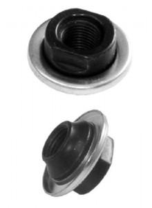 Kónus zadní osy 9,5 plné průměr17x13,5mm prachovka