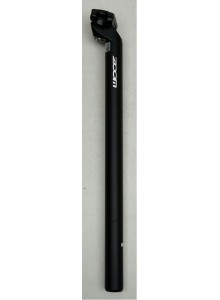 Sedlovka ZOOM SP-C207 AL/AL zámek 30,0/400mm černá