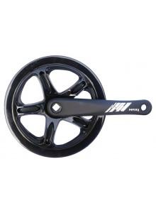 Kliky 1-převodník MAX1 single 46z/175mm černý,kryt