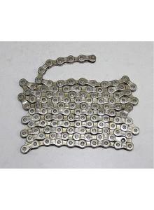 Řetěz YBN S52-S2 7-8 speed X3-32 stříbrný