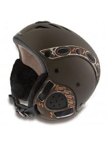 Lyž.helma MANGO Kino Free XP hnědá matná