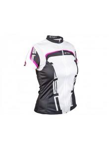 AUTHOR Dres Lady Sport M (15A bílá/černá/růžová)