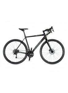 Gravel bike Author Aura XR4 2020 50 černá-matná/zelená