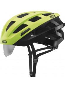 Cyklistická prilba ABUS In-Vizz Ascent green comb L