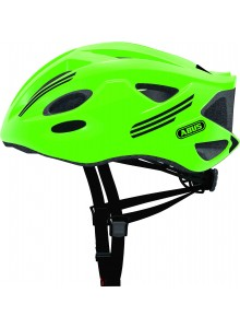 Cyklistická prilba ABUS S-Cension neon green L