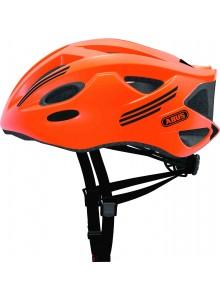 Cyklistická prilba ABUS S-Cension neon orange L