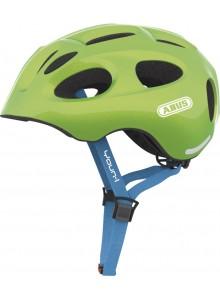 Cyklistická prilba ABUS Youn-I sparkling green M