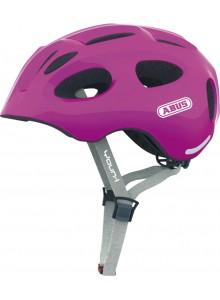 Cyklistická prilba ABUS Youn-I sparkling pink M